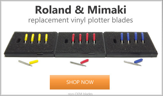Roland and Mimaki style replacement blades