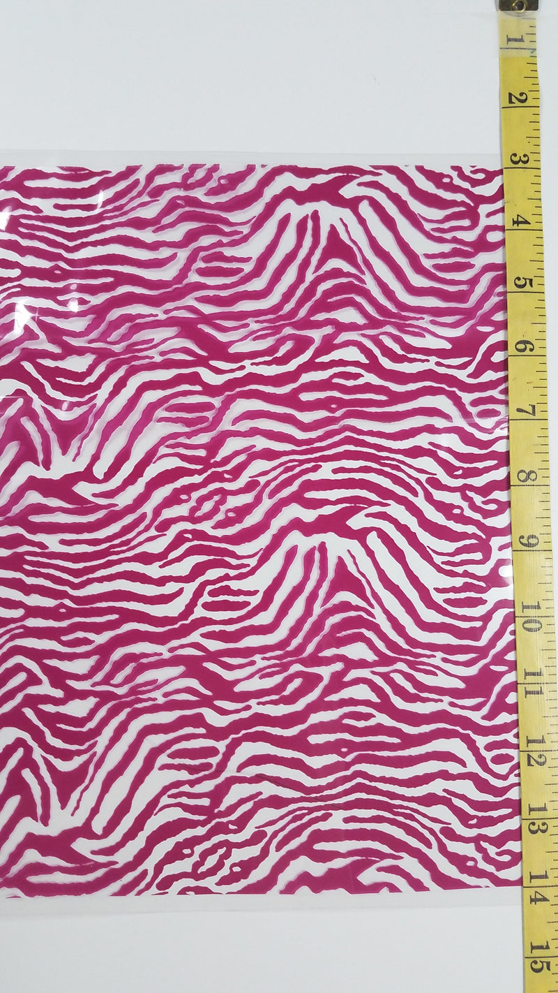 Pink Zebra - Hydro film for hydro dipping and water transfer printing - HydroCreations