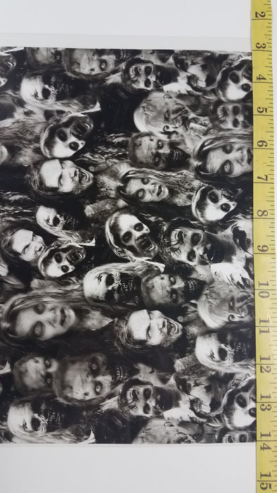 Zombies - Hydro film for hydro dipping and water transfer printing - HydroCreations