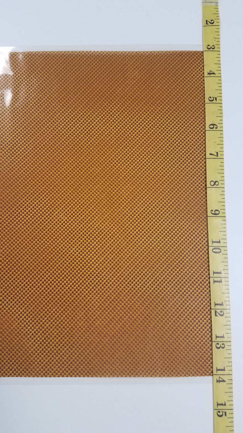 Orange Carbon Fiber - Hydro film for hydro dipping and water transfer printing - HydroCreations