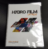 Downloadable and Printed Hydro Film Book Catalog.