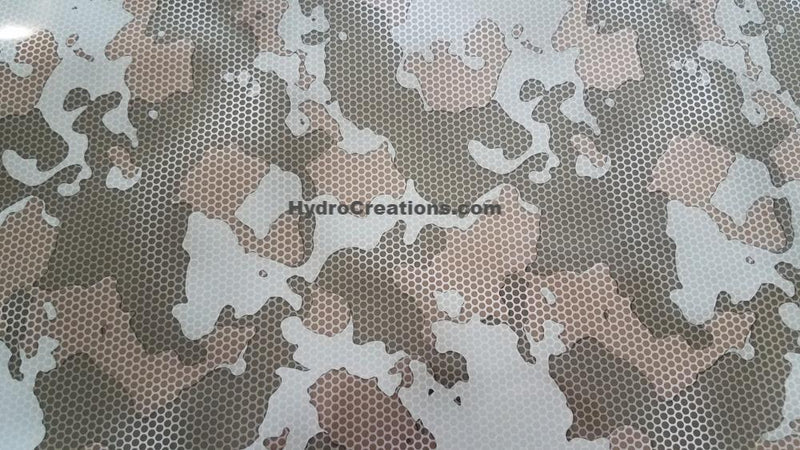 Meshed Camo - Hydro film for hydro dipping and water transfer printing - HydroCreations