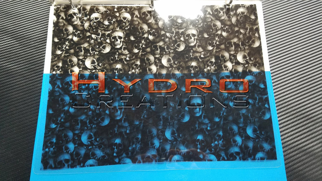 Skulls v2 - Hydro film for hydro dipping and water transfer printing - HydroCreations