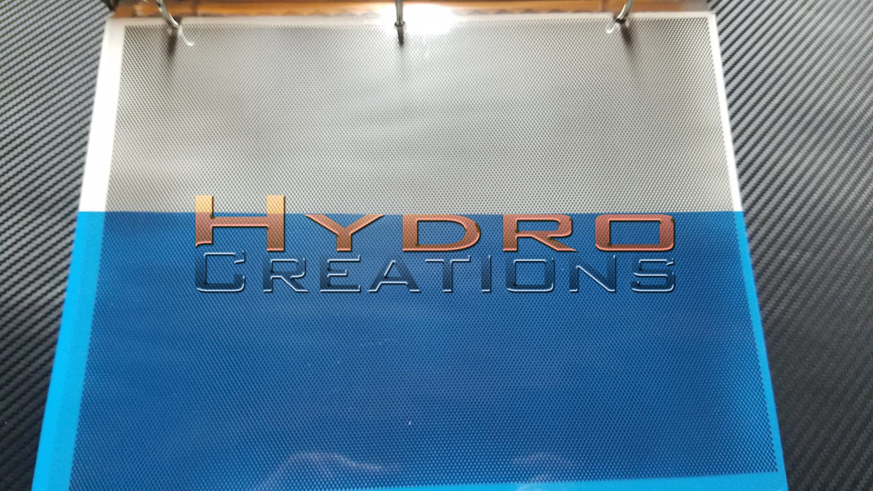 Metal - Hydro film for hydro dipping and water transfer printing - HydroCreations