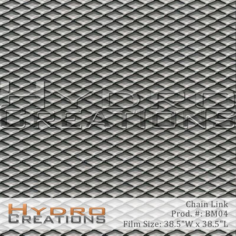 Chain Link - Hydro film for hydro dipping and water transfer printing - HydroCreations