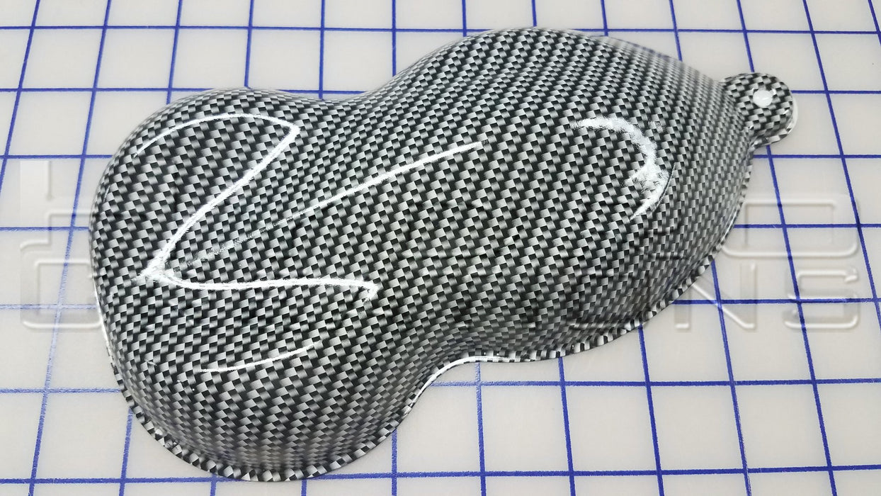 Carbon Fiber - Hydro film for hydro dipping and water transfer printing - HydroCreations