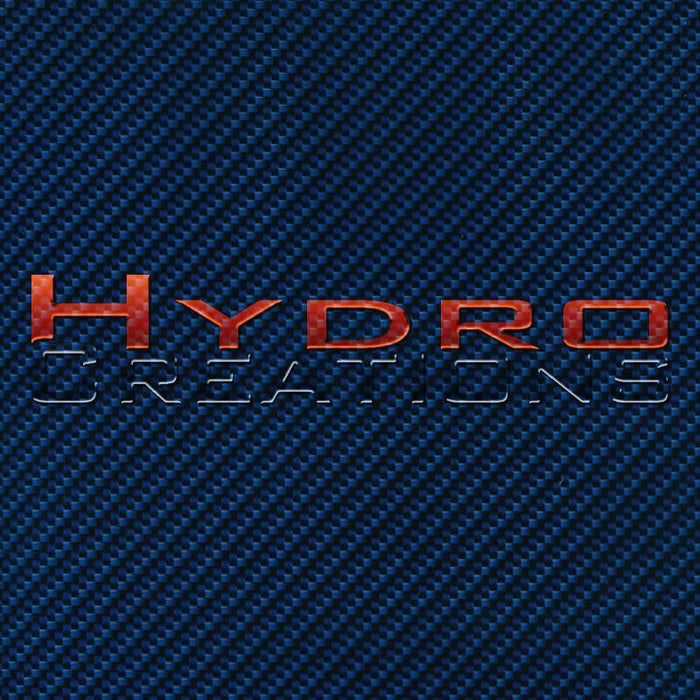 Blue Carbon Fiber - Hydro film for hydro dipping and water transfer printing - HydroCreations