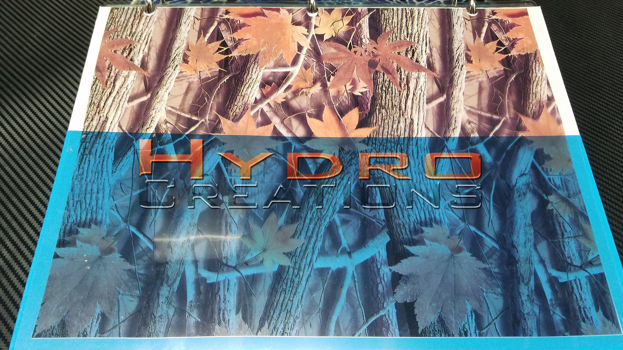 Fall Tree - Red - Hydro film for hydro dipping and water transfer printing - HydroCreations