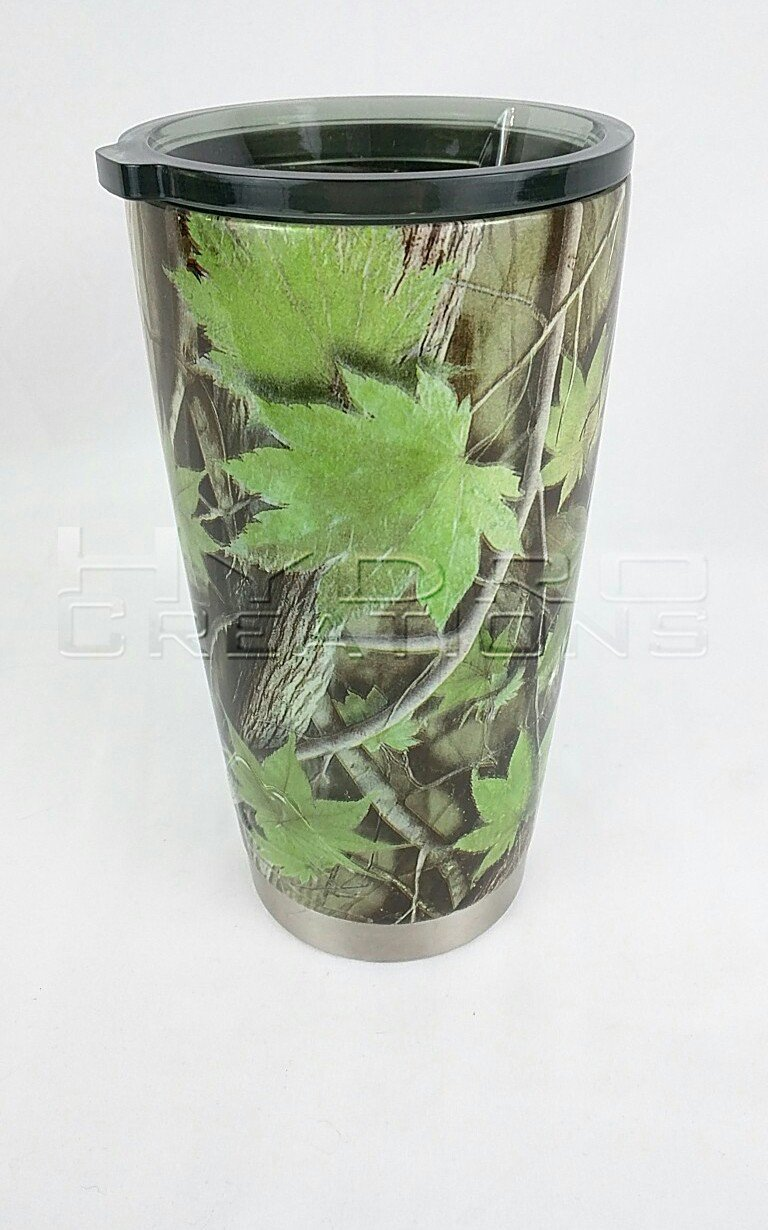 Fall Tree - Green - Hydro film for hydro dipping and water transfer printing - HydroCreations