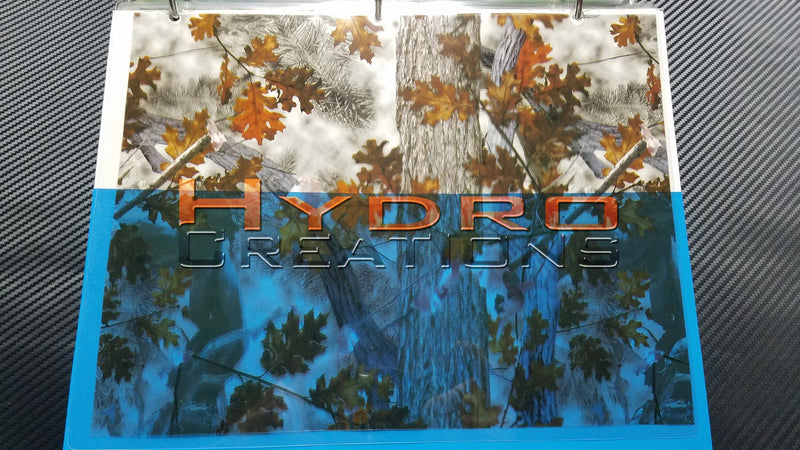 Fall Oak Tree - Hydro film for hydro dipping and water transfer printing - HydroCreations