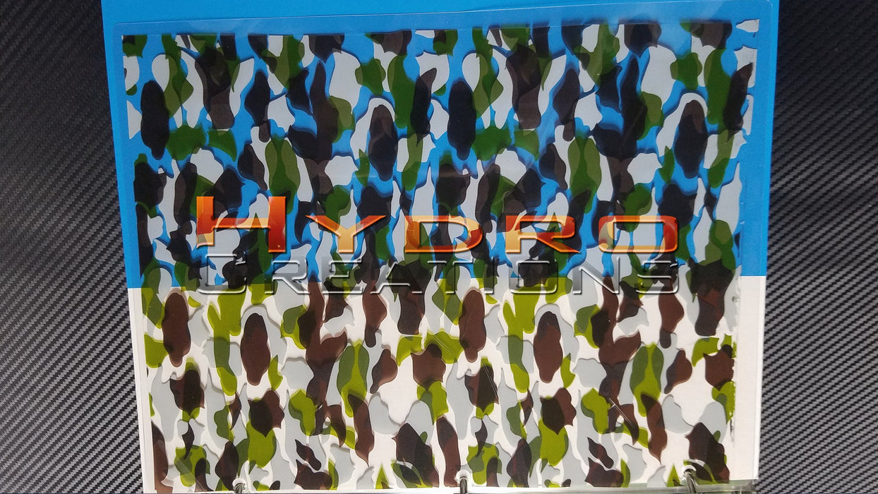Military Camo - Dirty - Hydro film for hydro dipping and water transfer printing - HydroCreations