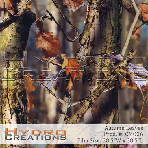 Autumn Leaves - Hydro film for hydro dipping and water transfer printing - HydroCreations