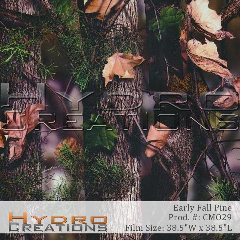 Early Fall Pine - Hydro film for hydro dipping and water transfer printing - HydroCreations