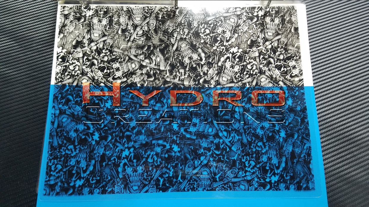 Cowboy Skulls - Hydro film for hydro dipping and water transfer printing - HydroCreations