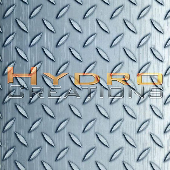 Diamond Plate - Hydro film for hydro dipping and water transfer printing - HydroCreations