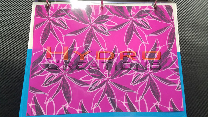Pink Floral - Hydro film for hydro dipping and water transfer printing - HydroCreations