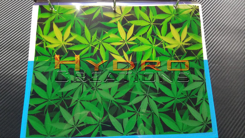 Weed Leaf - Hydro film for hydro dipping and water transfer printing - HydroCreations