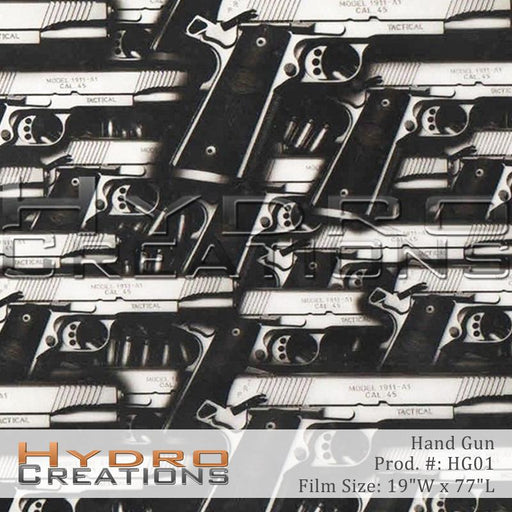 Hand Gun - Hydro film for hydro dipping and water transfer printing - HydroCreations