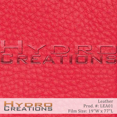 Leather design hydro film - product image.