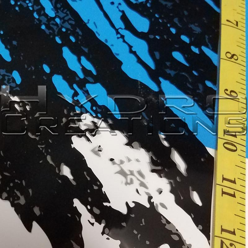 Marble Splash - Hydro film for hydro dipping and water transfer printing - HydroCreations