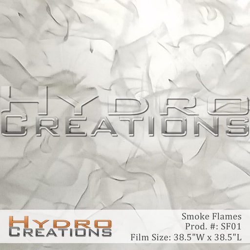 Smoke Flames - Hydro film for hydro dipping and water transfer printing - HydroCreations