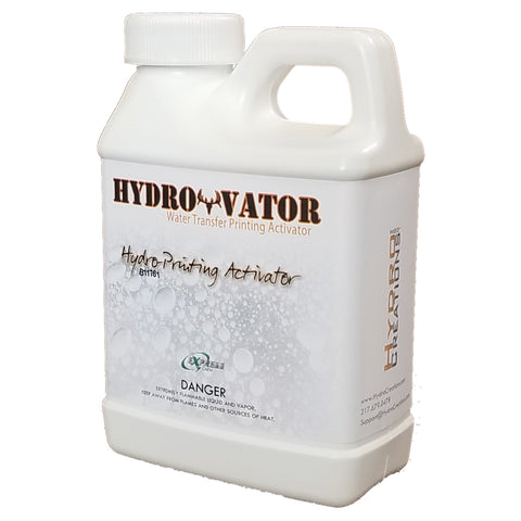 HydroVator 8 oz. sample bottle of hydro dipping activator.