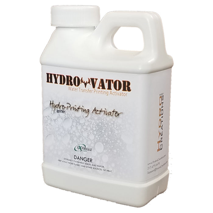 HydroVator Activator - Sample Bottle - Hydro film for hydro dipping and water transfer printing - HydroCreations