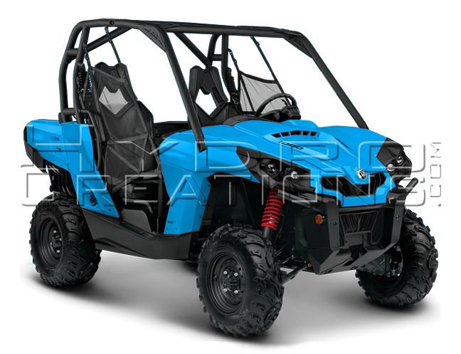 Side by Side ATV Mock Designer Template - Hydro film for hydro dipping and water transfer printing - HydroCreations