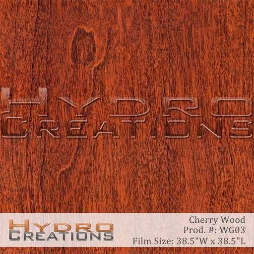 Red Wood - Hydro film for hydro dipping and water transfer printing - HydroCreations