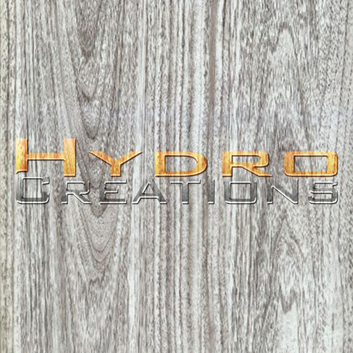 Gray Wood Grain - Hydro film for hydro dipping and water transfer printing - HydroCreations