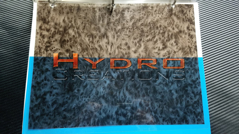 Burl Wood v3 - Hydro film for hydro dipping and water transfer printing - HydroCreations