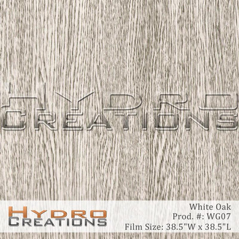 White Oak Wood Grain design hydro film - main product image HydroCreations.