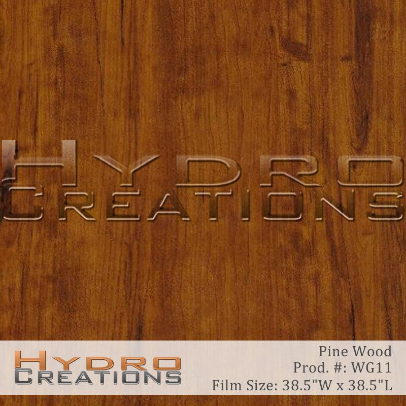 Pine Wood - Hydro film for hydro dipping and water transfer printing - HydroCreations