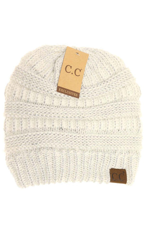C.C Metallic Beanie- hat20am