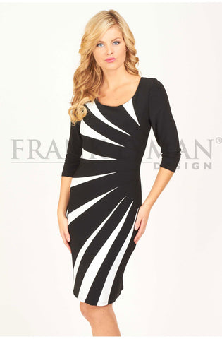 Sophisticated black dress by Frank Lyman (43012)