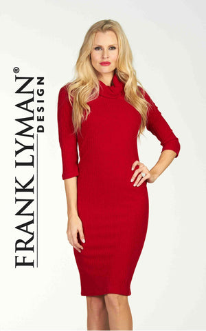 Pretty long-sleeved dress by Frank Lyman (64312)
