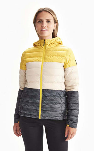 Lolë Down packable jacket Emeline Colorblock luw0660