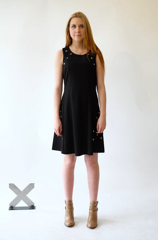 Versatile little black dress by Nicole Benisti (Dr-7503)