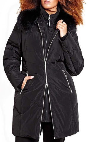 Ookpik Winter Down Coat Iceberg