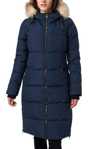 Pajar Winter Coat with Fur Trim Jayde p2j886f9ox