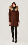 SOIA & KYO Wool Winter Coat Charlena