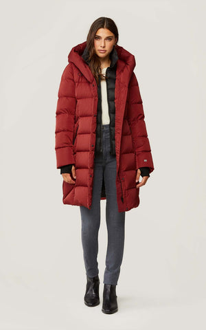 SOIA & KYO Down Winter Coat Sonny