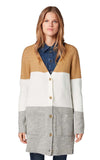 Tom Tailor Colorblock Cardigan 1012551