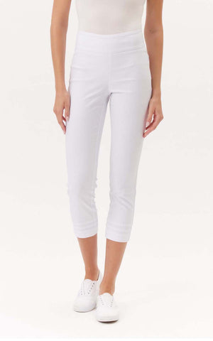 Up! Crop Pant with hem pleats- 67166