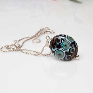 Green Dotted Pendant