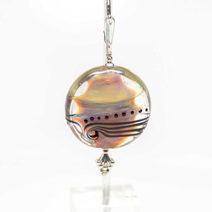 Necklace Ready Pendant - DH Swirl