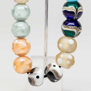 Round Glass Bead Set