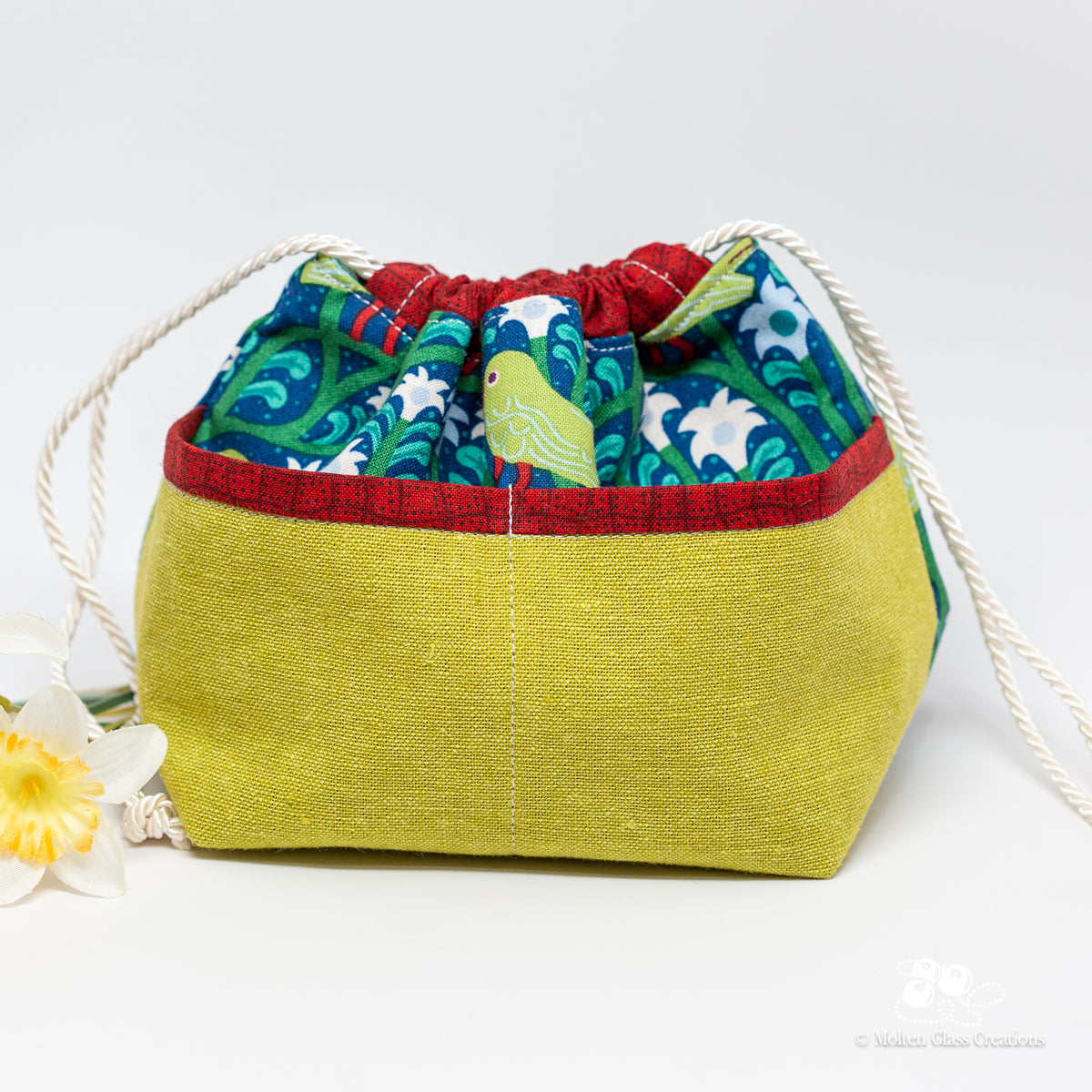 Quilted Bag & Lemon Lime Seam Ripper
