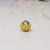big hole bead yellow