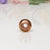 Big Hole Bead - Peach/Copper
